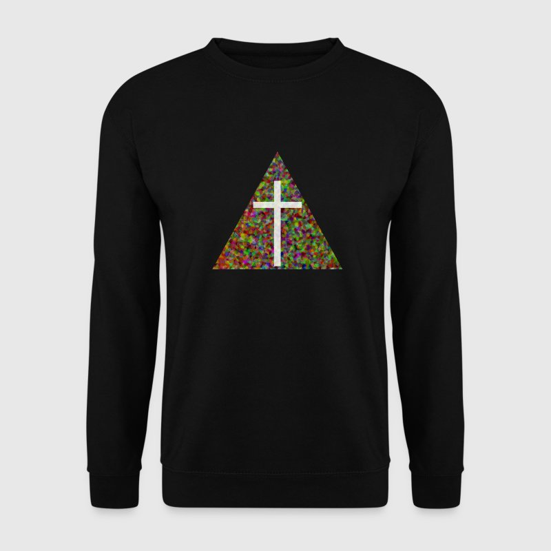 Croix Triangle Sweat-shirts - Sweat-shirt Homme