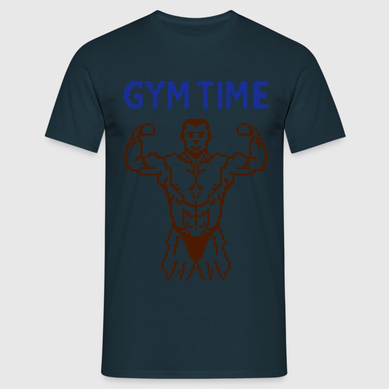 gym time pixelart T-Shirts - Men's T-Shirt