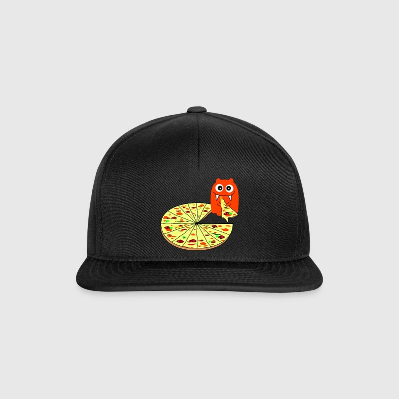 Monster Pizza Czapki  - Czapka typu snapback