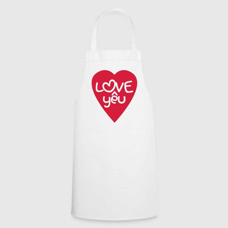 Vietnamese Valentine ♥ Love Yêu ♥ Asian Wordplay  Aprons - Cooking Apron