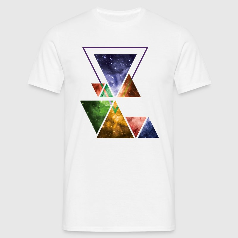Art Triangle Galaxy T-Shirts - Men's T-Shirt