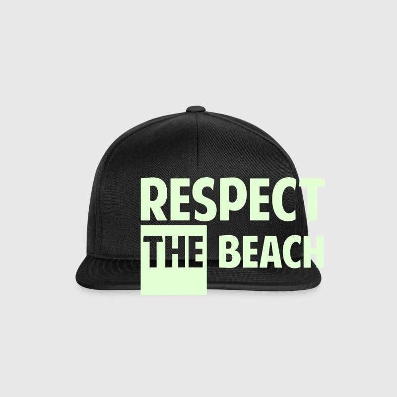 Respect th beach - Casquette snapback