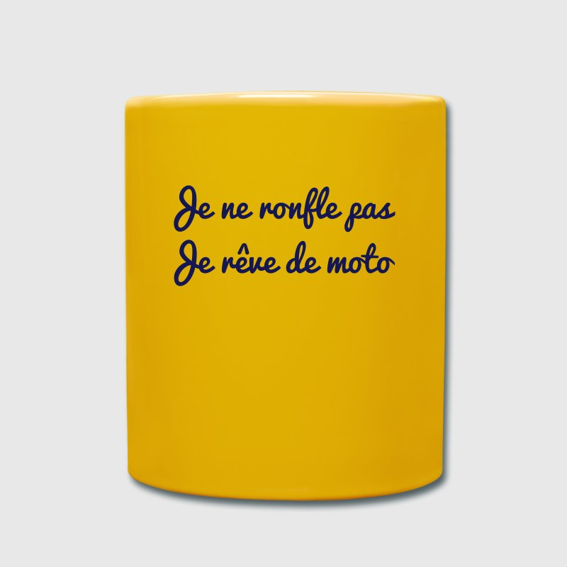 Je ne ronfle pas Moto Mugs & Drinkware - Full Colour Mug