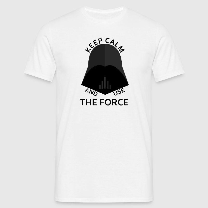 keep calm use the force Tee shirts - T-shirt Homme