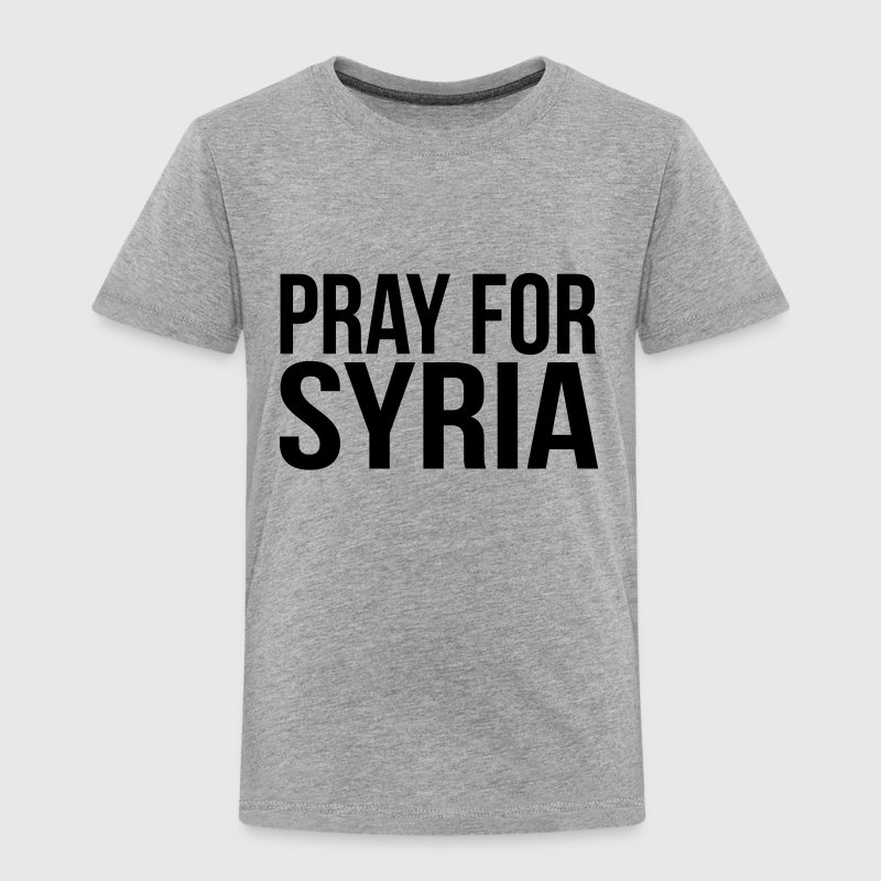 PRAY FOR SYRIA Tee shirts - T-shirt Premium Enfant