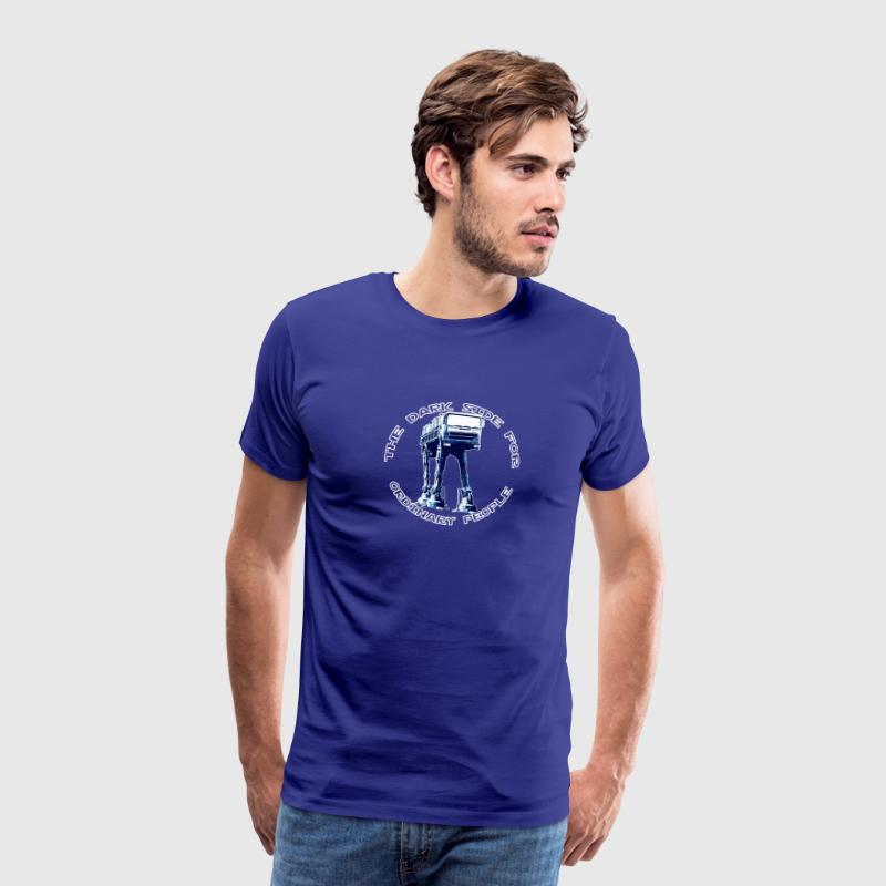 AT-AT Fiat ordinary blue T-shirts - Mannen Premium T-shirt