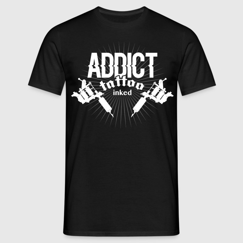 tattoo addict ink Tee shirts - T-shirt Homme