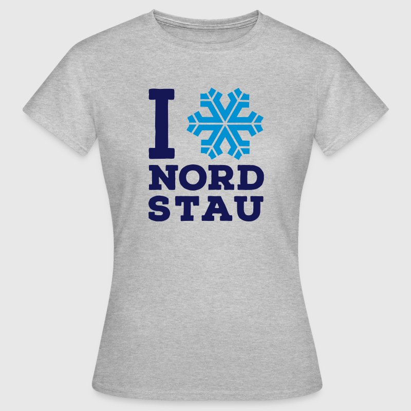 I love Nordstau T-Shirt - Frauen T-Shirt
