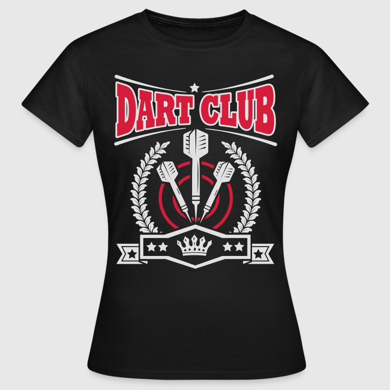 Dart Club T-Shirts - Frauen T-Shirt