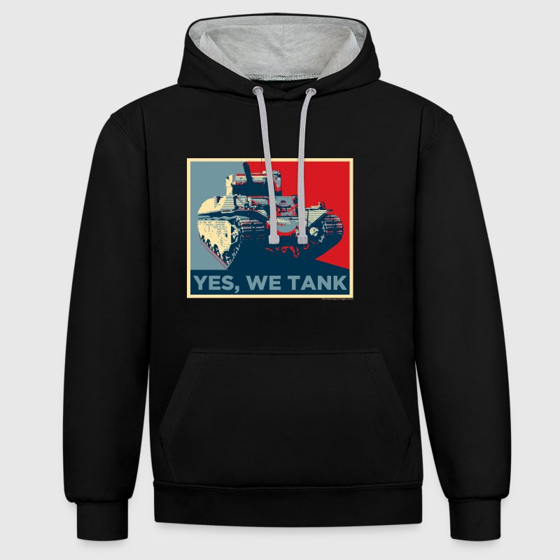 World of Tanks Yes, We Tank Men Hoodie - Contrast Colour Hoodie