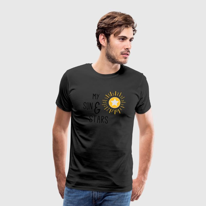 My sun and stars - Männer Premium T-Shirt