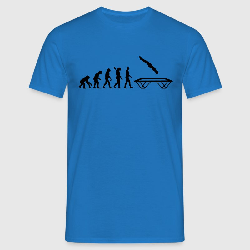 Evolution Trampolin T-Shirts - Männer T-Shirt