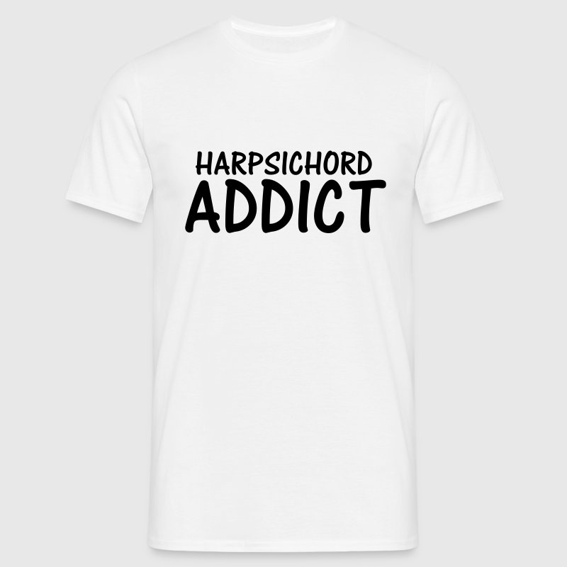 harpsichord addict T-Shirts - Men's T-Shirt