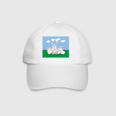 Easter Bunny with Eggs Mugs & Drinkware - Baseball Cap