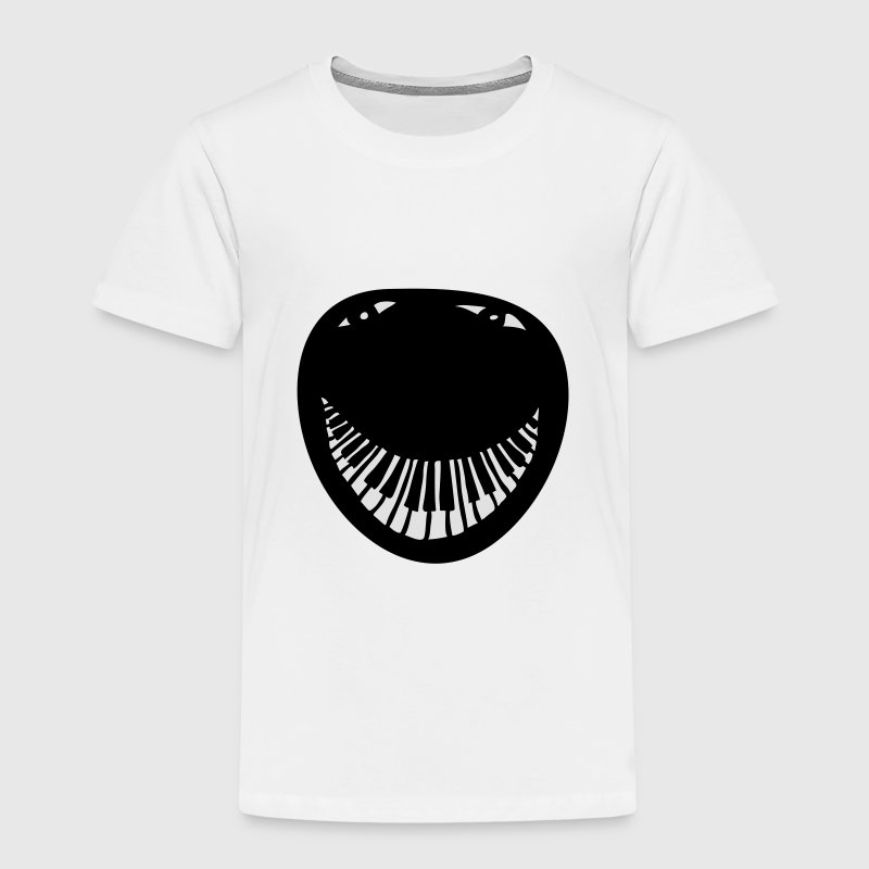 Smiley piano Tee shirts - T-shirt Premium Enfant