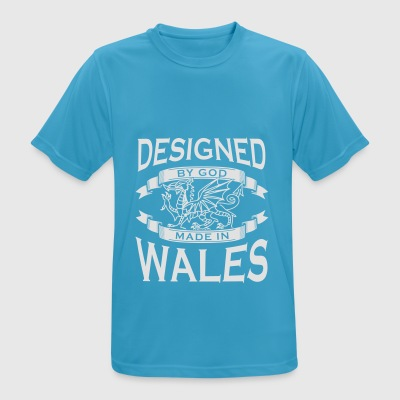 Designed by God - Wales M Sports wear - Men's Breathable T-Shirt