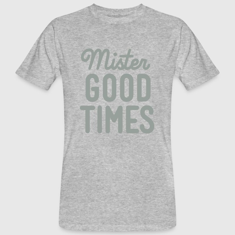 MISTER GOOD TIME Tee shirts - T-shirt bio Homme