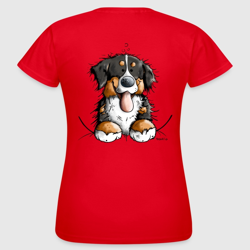 Happy Bernese Mountain Dog T-Shirts - Women's T-Shirt
