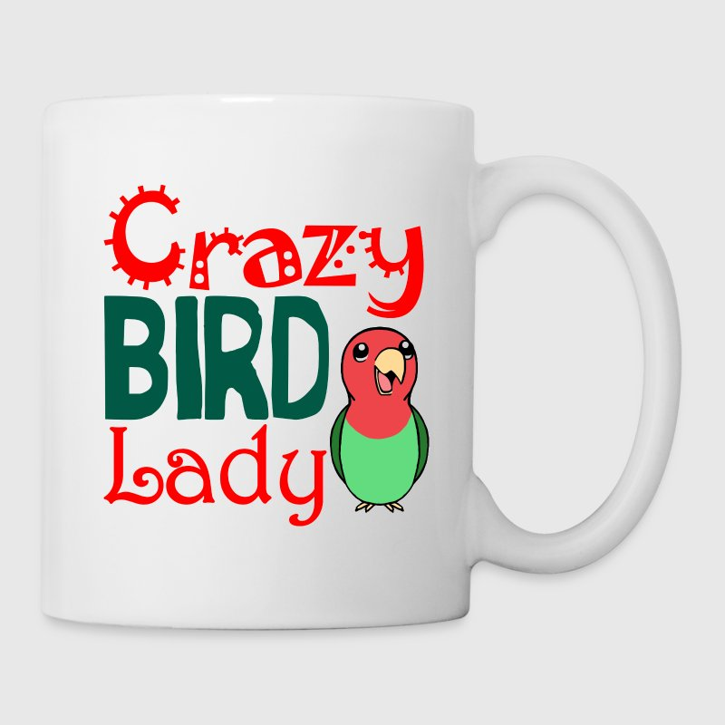 Crazy bird lady - Mug
