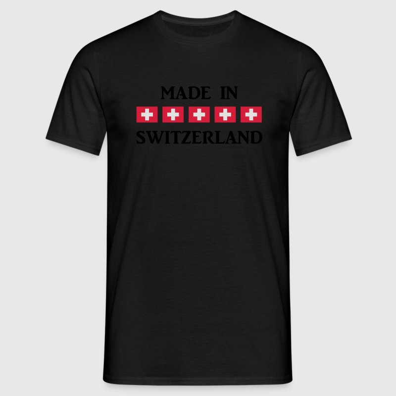 MADE IN SWITZERLAND T-Shirts - Männer T-Shirt