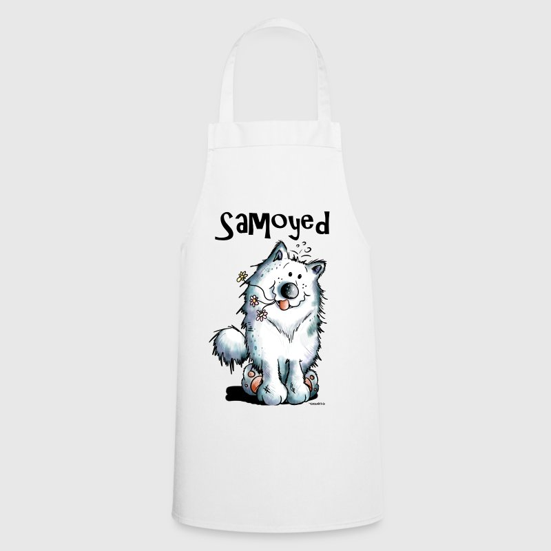 Funny Samoyed  Aprons - Cooking Apron