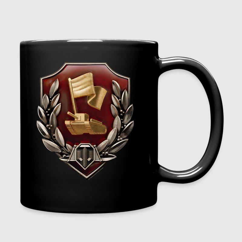 World of Tanks Zashitnik Médaille tasse - Tasse en couleur
