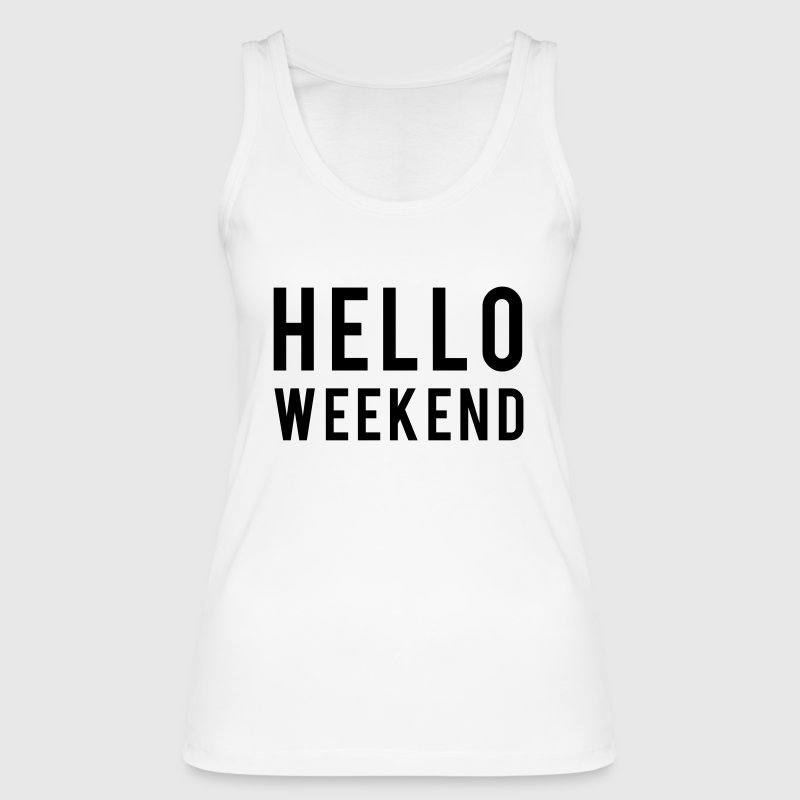Weekend Tops - Women's Organic Tank Top by Stanley & Stella