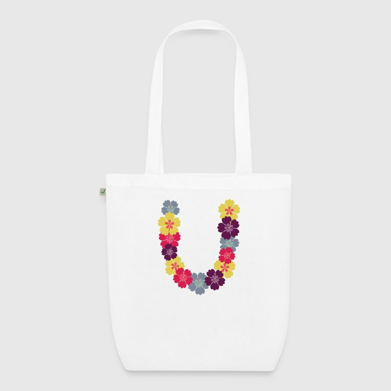 Hawaiian flower necklace Bags & Backpacks - EarthPositive Tote Bag