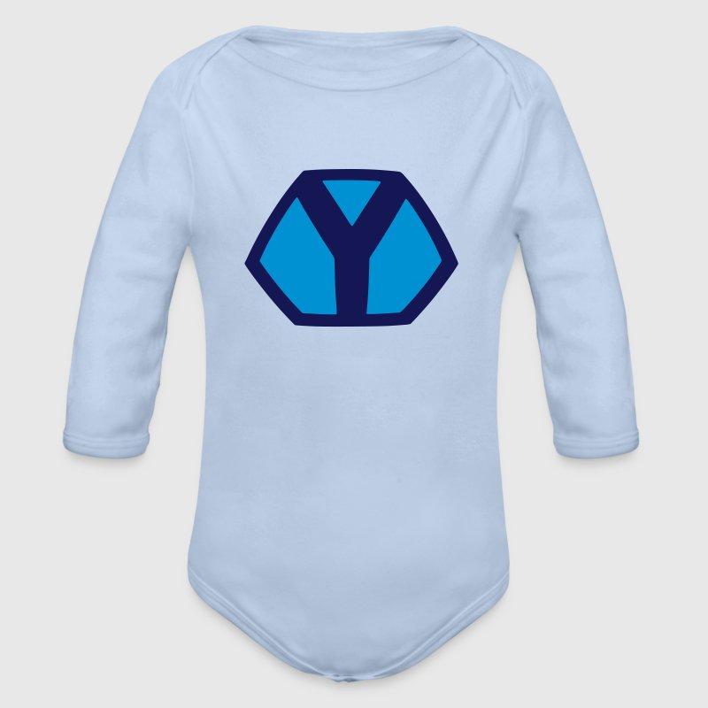 y symbol superhero superhelden logo zeichen baby body spreadshirt. Black Bedroom Furniture Sets. Home Design Ideas