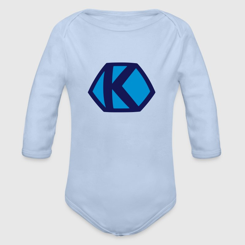 Comic Hero Superheld Superman K lustige Baby Bodys - Baby Bio-Langarm-Body