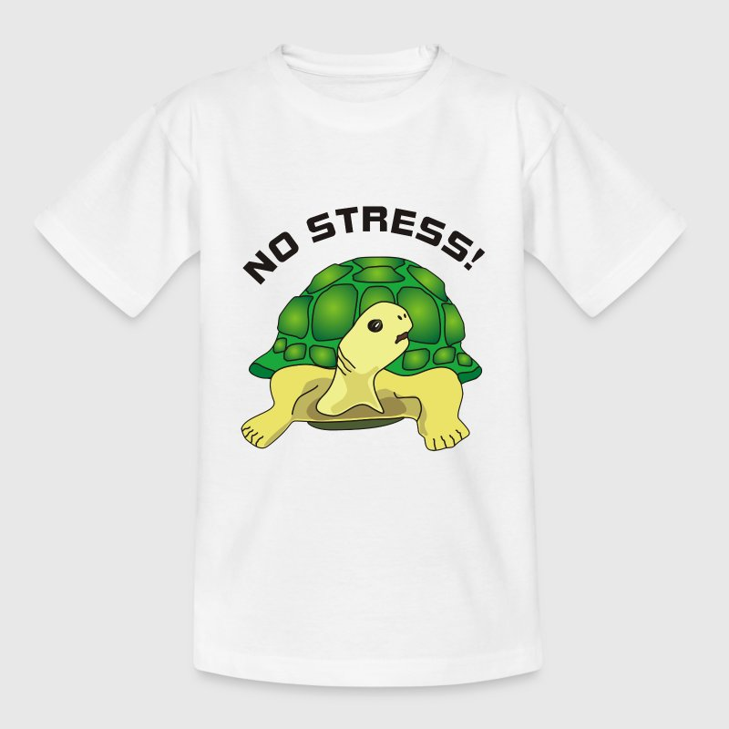 no stress Shirts - Kids' T-Shirt