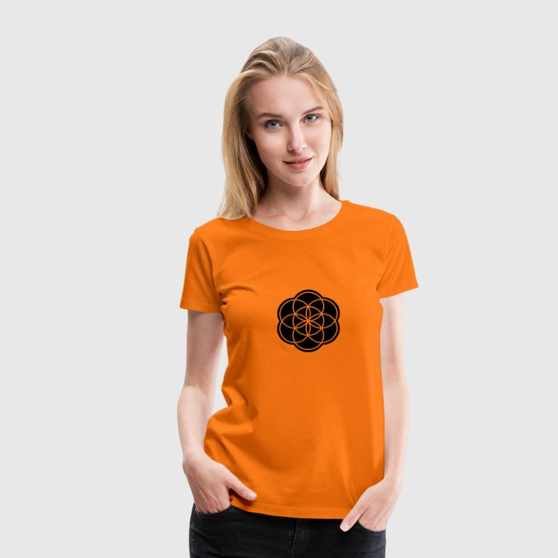 Seed of Life T-Shirts - Frauen Premium T-Shirt