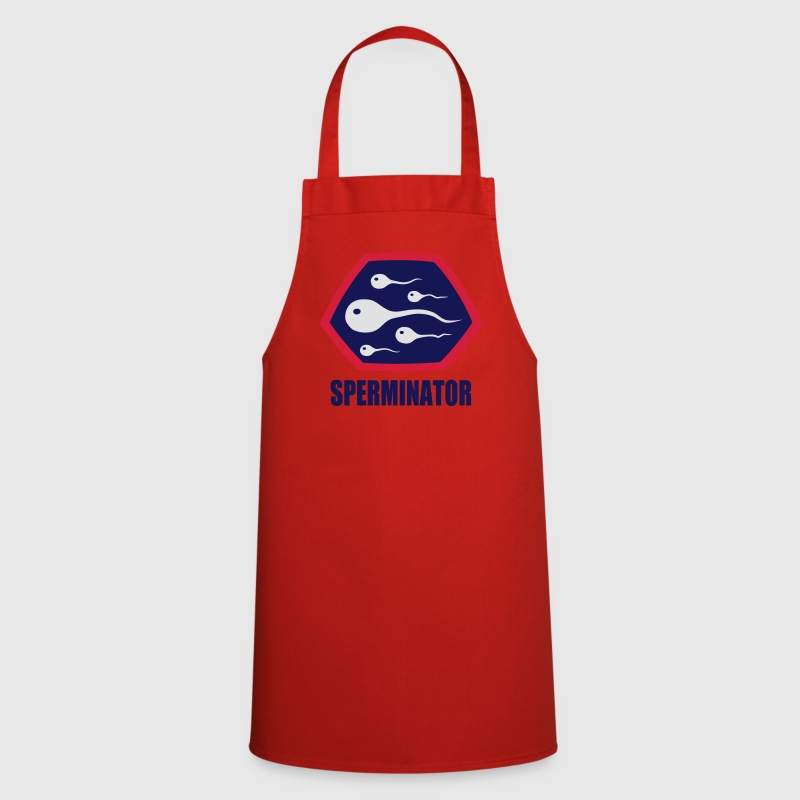 Superhero Hero Sperminator Sex Nymphomane - Tablier de cuisine