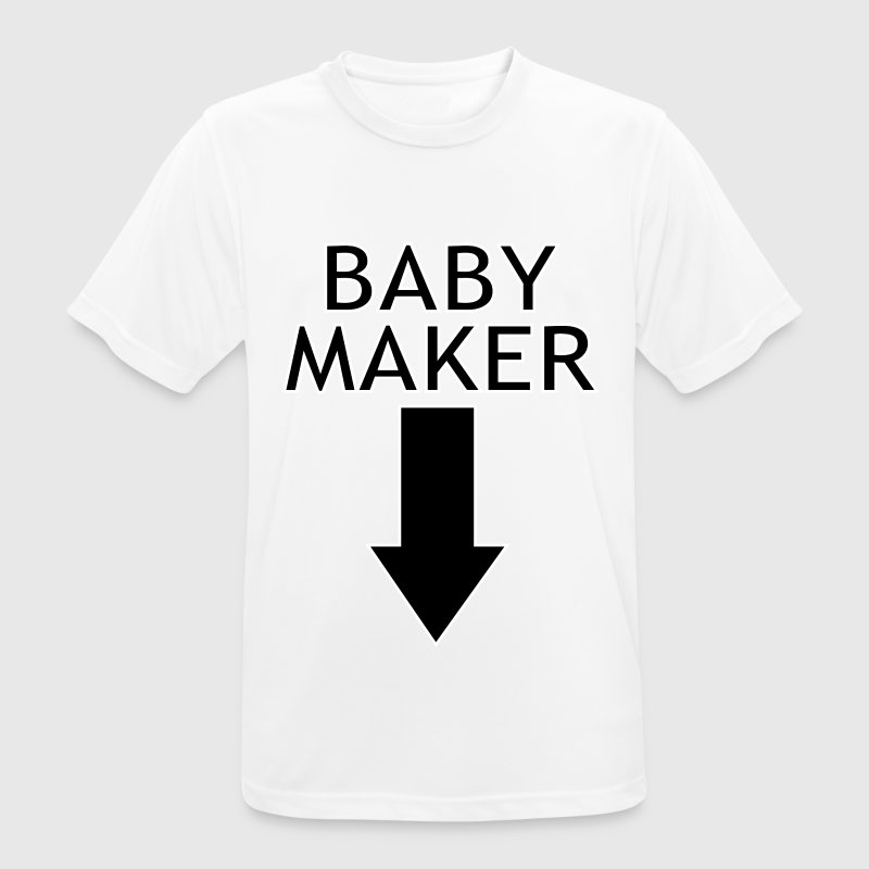 baby maker T-Shirts - Men's Breathable T-Shirt