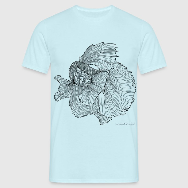 Chinese fighting fish - Men's T-Shirt