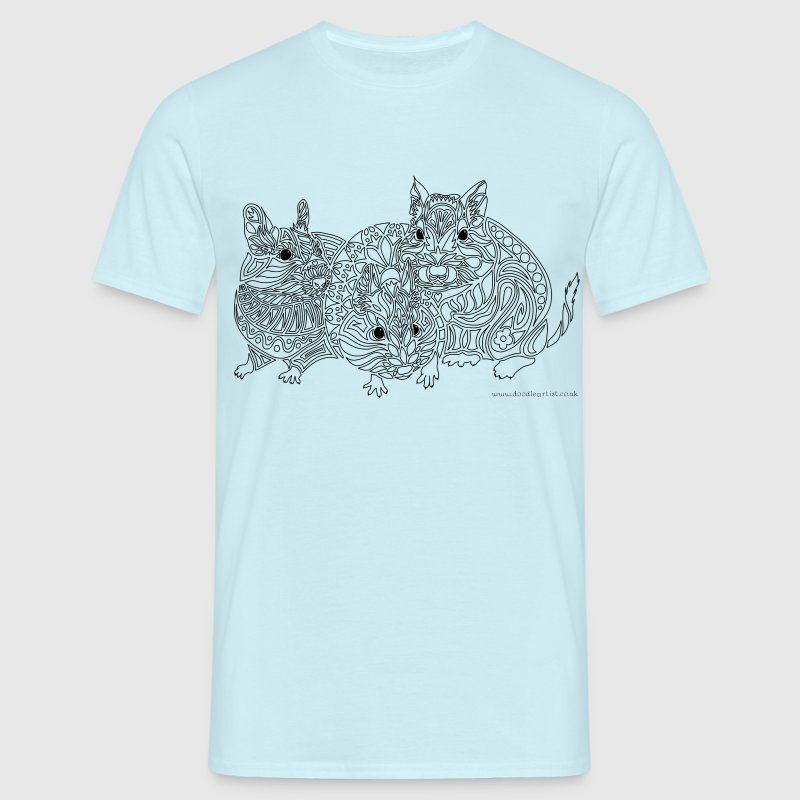 Three degus - Men's T-Shirt