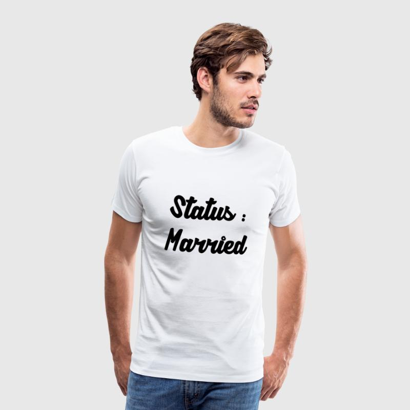 Married / Mariage / Couple / Love / Sexy / Sex T-Shirts - Men's Premium T-Shirt