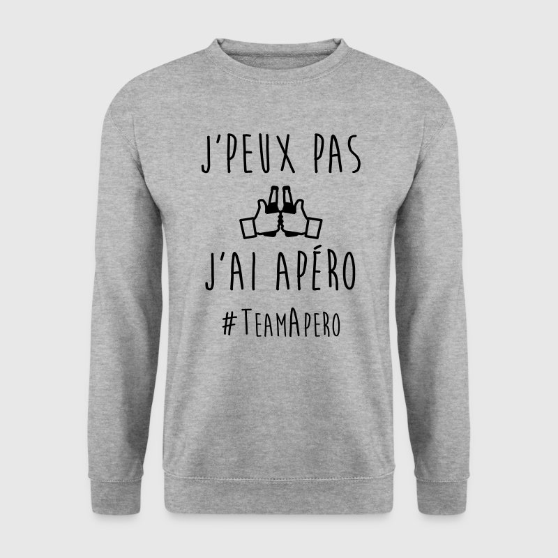 JE PEUX PAS J'AI APERO Sweat-shirts - Sweat-shirt Homme