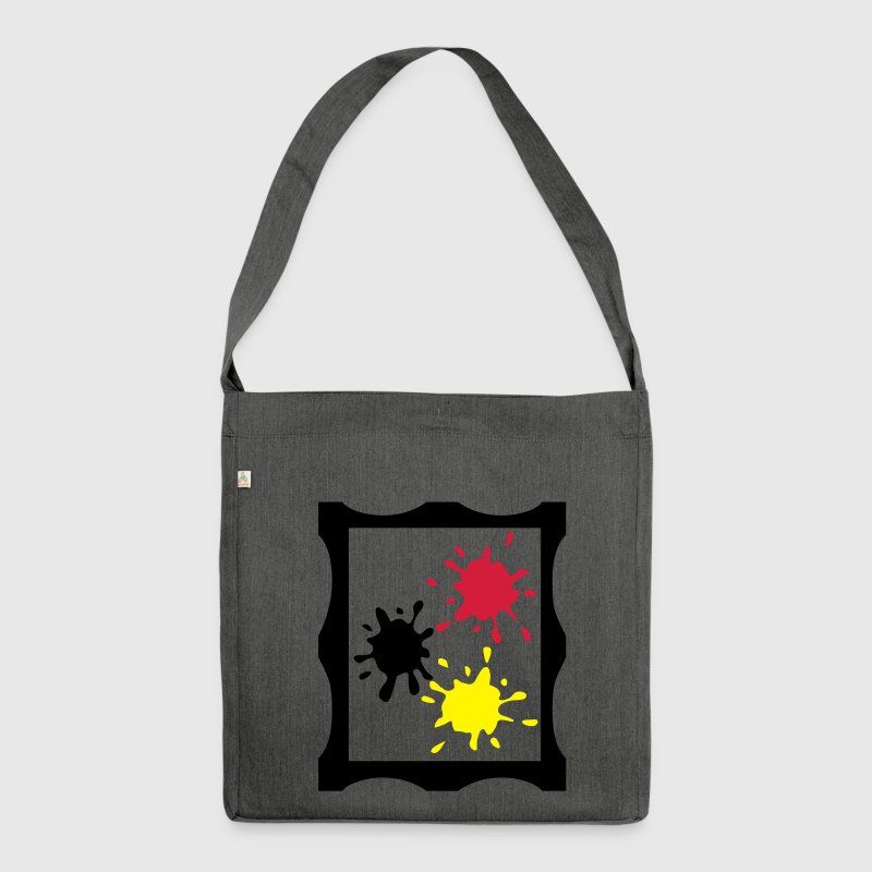 artist painting Bags & Backpacks - Shoulder Bag made from recycled material