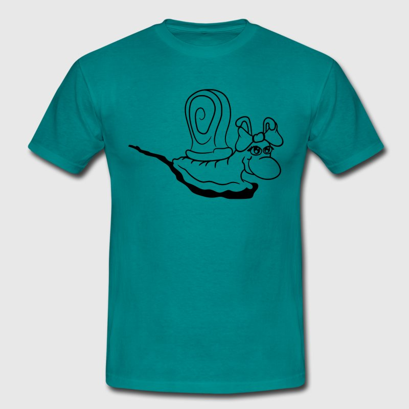 snail girl sexy hot horny woman female girl hot lo T-Shirts - Men's T-Shirt