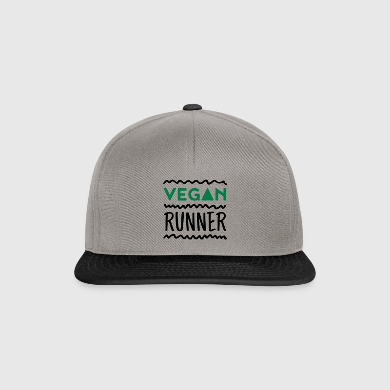 Vegan Runner Caps & Hats - Snapback Cap