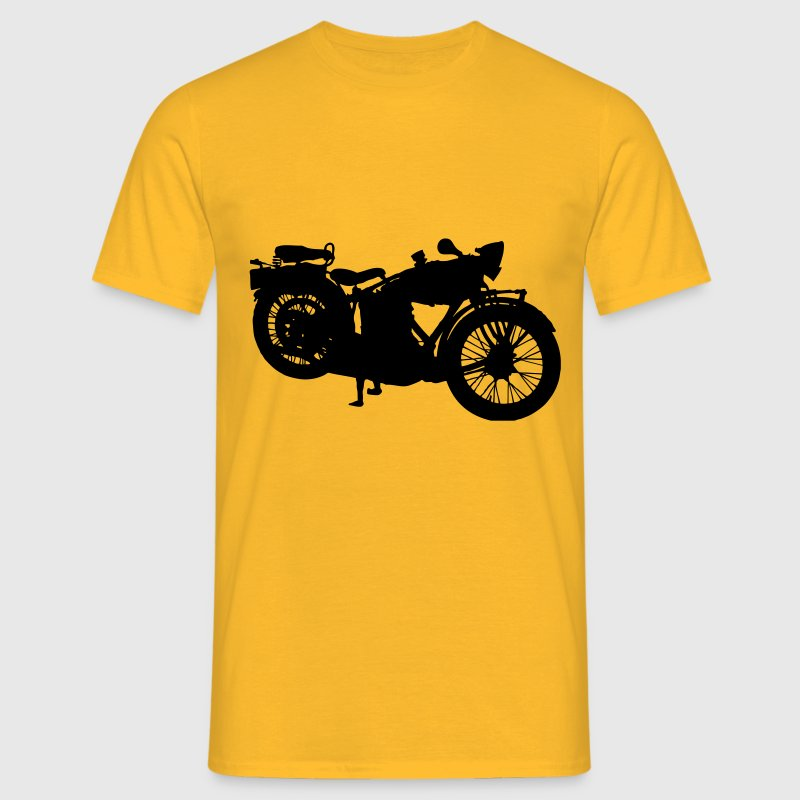 Cru, bicyclette, vieille moto Tee shirts - T-shirt Homme