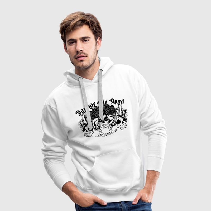 Day of the dead Sweat-shirts - Sweat-shirt à capuche Premium pour hommes