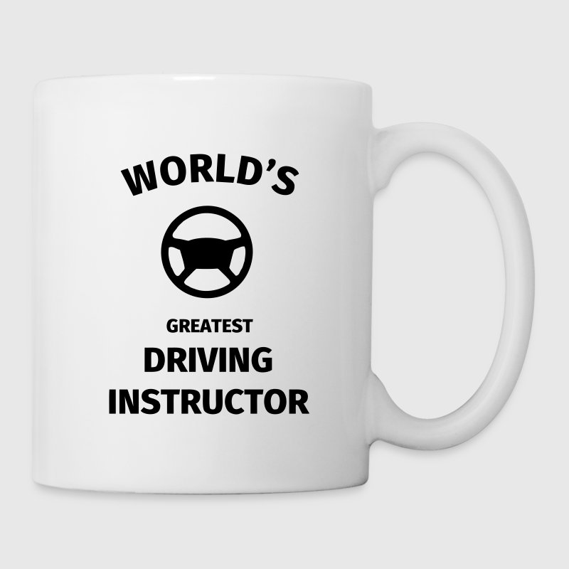 World's Greatest Driving Instructor Mugs & Drinkware - Mug