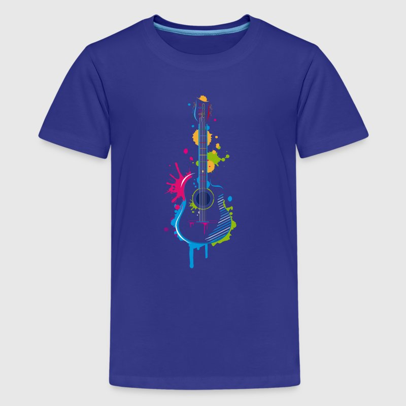 Graffiti guitar Shirts - Teenage Premium T-Shirt