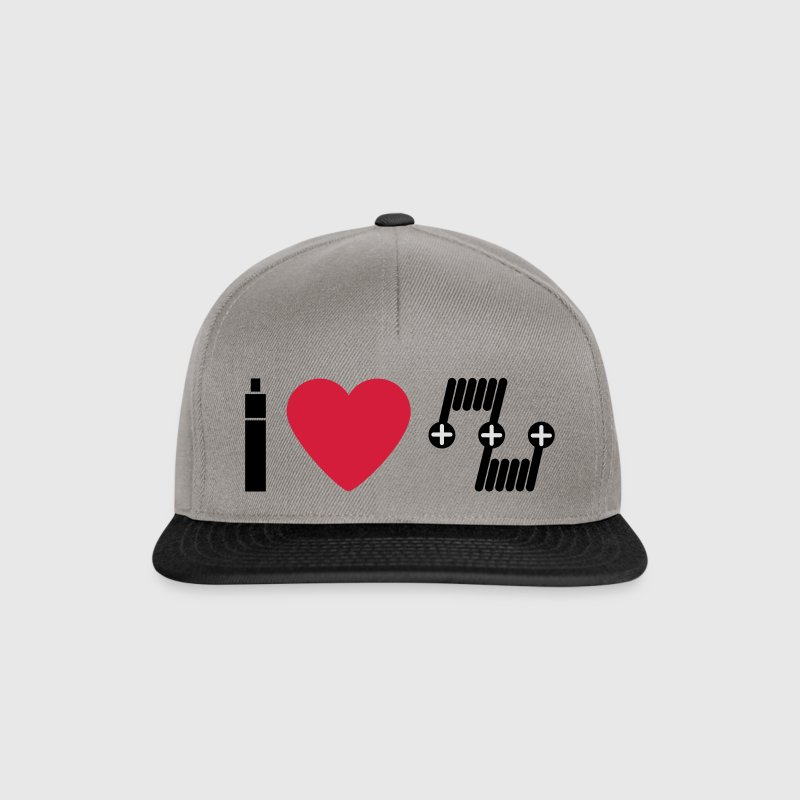 I love RDA deck.svg Caps & Hats - Snapback Cap