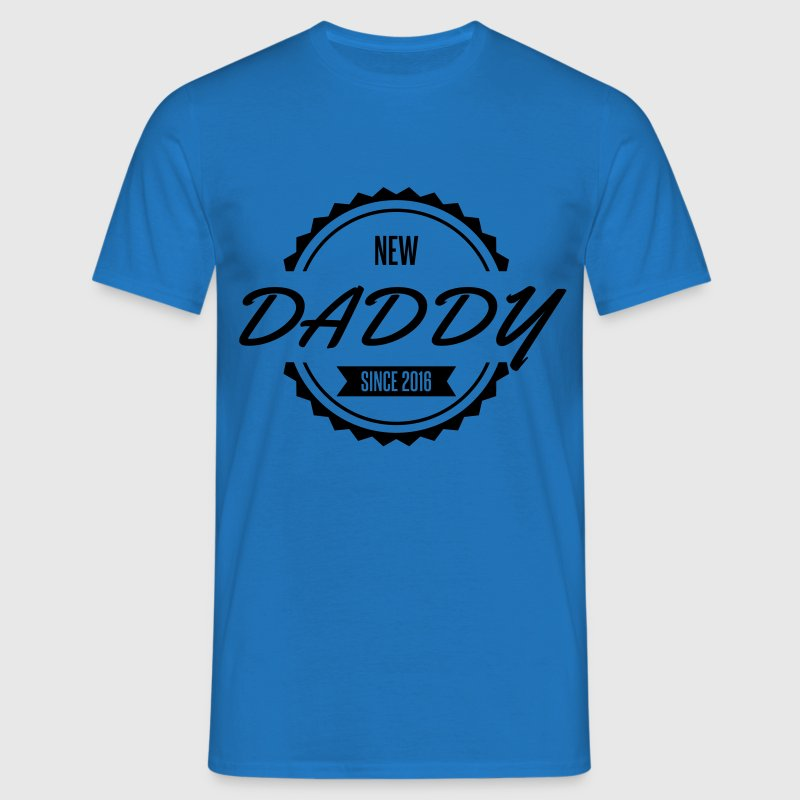 new daddy since 2016 Tee shirts - T-shirt Homme