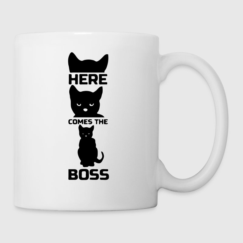 Here comes the Boss (Cat)  - Mug