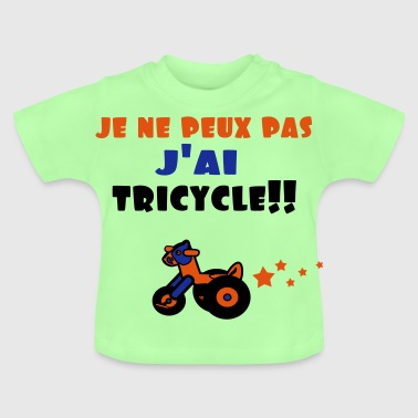 j'ai tricycle Sweats - T-shirt Bébé