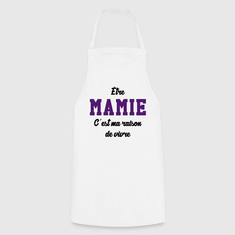 Tablier mamie mamy grand m re b b enfant naissance - Tablier de cuisine enfant personnalise ...